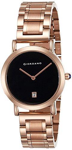 Giordano Analog Black Dial Women's Watch - 2810-11