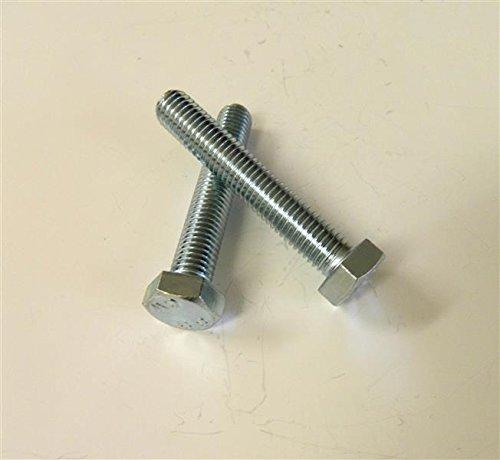 Dresselhaus Sechskantschrauben 8.8 mit Gewinde bis Kopf DIN EN ISO 4017 (ehem.DIN 933), M 16 x 100 mm, galvanisch verzinkt, 25 Stück