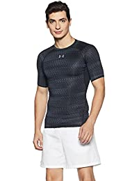 Under Armour Heat Gear Armour Printed Short Sleeve Men's Round Neck T-Shirt
