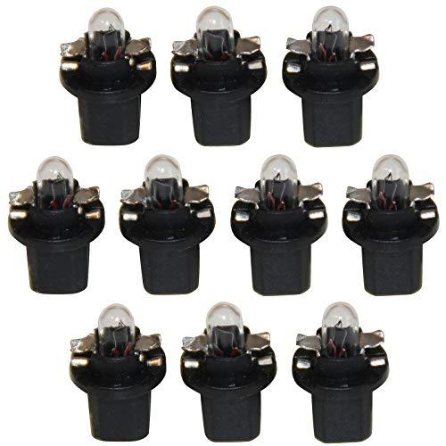 LED-Mafia® B85d Halogen Tachobeleuchtung Cockpit Glühbirne Tacho warmweiß (10x)