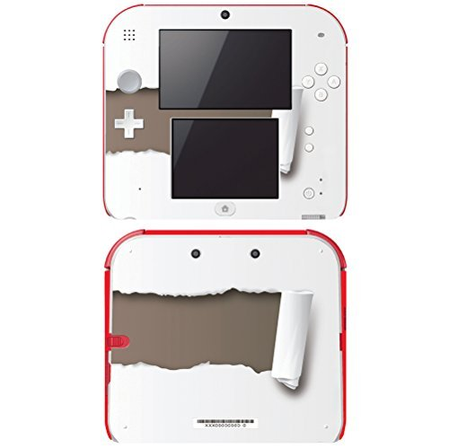Decal Skin Vinyl Game Cover for Nintendo 2DS - Paper Rip by DecalSkin Decalskin Cover