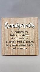 Idea Regalo - Legno Love Wishes Nonni in Legno da Parete Libera Installazione Gift