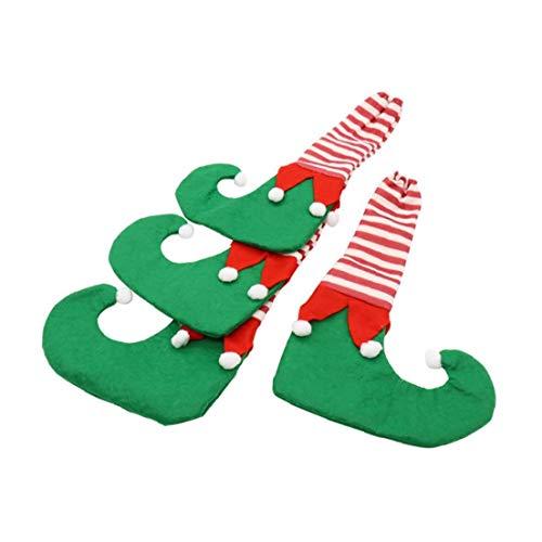 4pcs Pata De La Mesa De Navidad Fundas Para Sillas Creativo De Los Calcetines De Navidad Muebles Calcetines Del Piso...