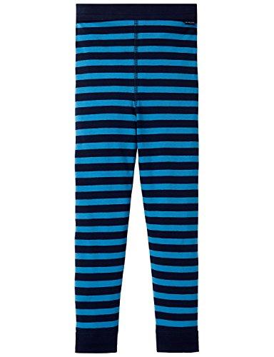 Schiesser Jungen Boxershorts Unterhose lang, Gr. 98, Blau (blau 800)