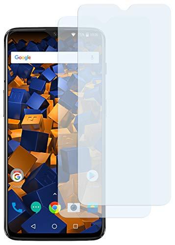 mumbi Schutzfolie kompatibel mit OnePlus 6T Folie klar, Displayschutzfolie (2x)