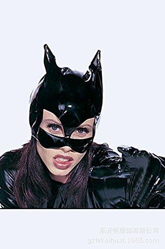 Halloween Show Catwoman Motorhaube leder Kopfbedeckungen