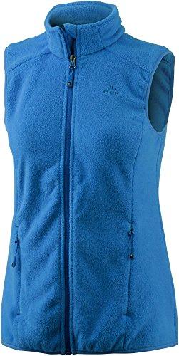 OCK Damen Fleeceweste blau 40