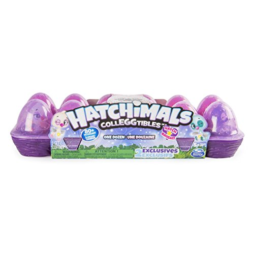 Hatchimals Collectable 12Pack Egg Carton with Exclusive Season 4 Collectable for Ages 5 and up (Styles and Colors May Vary)