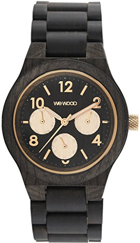 WeWood 70371313 BLACK Wood Woman Watch