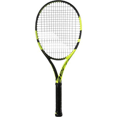 Babolat Pure Aero Raqueta de Tenis, Unisex Adulto, Negro, Amarillo, 2