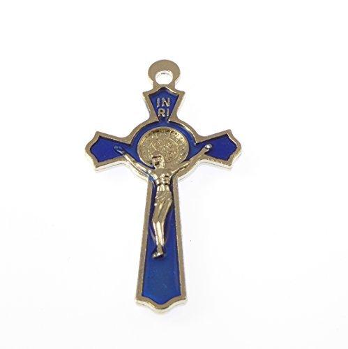 5cm-bright-blue-st-benedict-cross-with-raised-jesus-crucifix