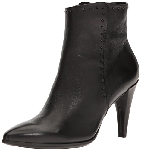 Ecco Damen Shape 75 Pointy Kurzschaft Stiefel, Schwarz (11001black), 39 EU (Toe Pointy Bootie)
