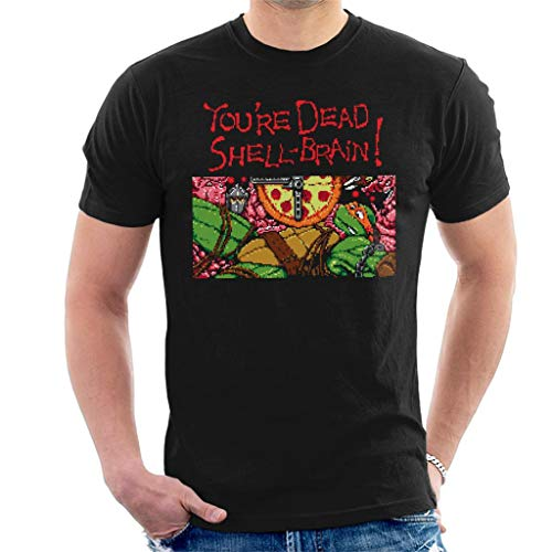 Youre Dead Shell Brain Ninja Gaiden Turtles Men's T-Shirt