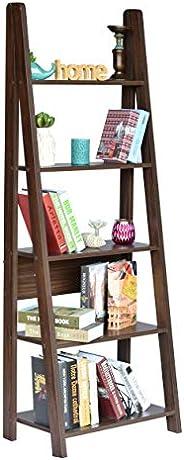 DeckUp Reno Ladder Book Shelf/Display Unit (Walnut, Matte F