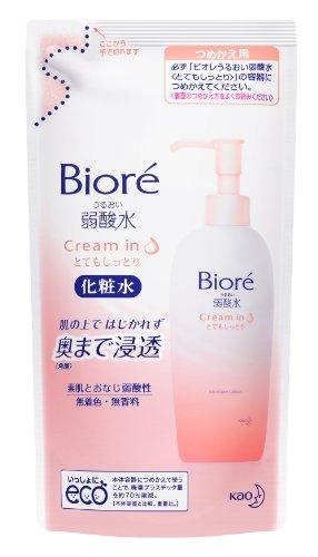 Biore URUOI JYAKU-SANSUI TOTEMO SHITTORI acescence-water toner - Refill 180ml (japan import)