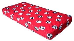 Kidsaw Football Single Mattress (Red)