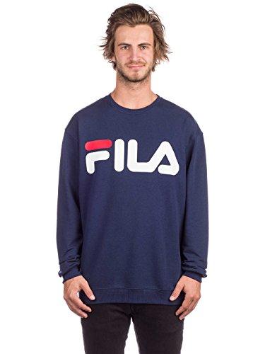 Fila Sweater Herren Classic Logo Sweat Dunkelblau 170 Black Iris, Größe:XL