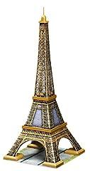 Idea Regalo - Ravensburger 12556 -  Tour Eiffel - Puzzle 3D Building