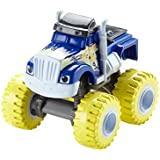Blaze y los Monster Machines - Blaze DKV74 - Coche Crusher Lluvia de bananas
