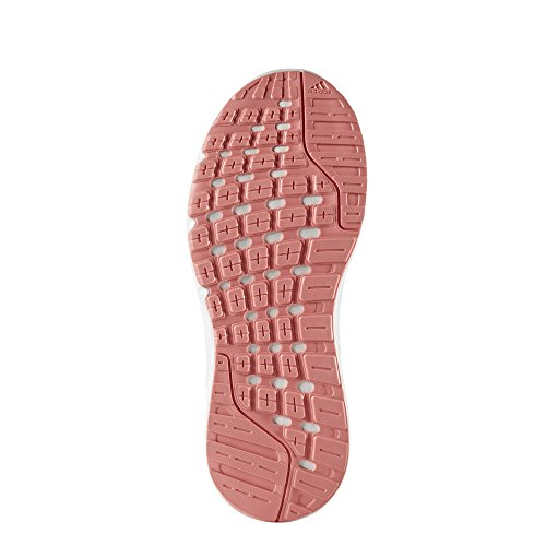adidas Galaxy 4 W, Scarpe Running Donna Bianco (Footwear White/footwear White/tactile Rose)