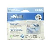 Dr Brown's Options Microwave Steriliser Bag, Pack of 5