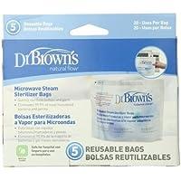 Dr. Brown's 157077.2 - Bolsas para esterilización en microondas, 5 unidades