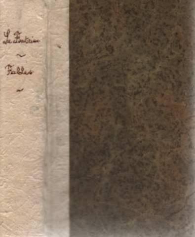 La Fontaine. Fables precedees d'une notice biographique et litteraire et accompagnees de notes grammaticales et d'un lexique, par Rene Radouant