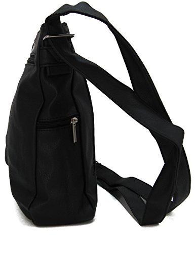 9d461cac78c73 ... STEFANO moderne Damen Umhängetasche Schultertasche Frauen Handtasche  soft PU verschiedene Modelle M2 - Blau ...