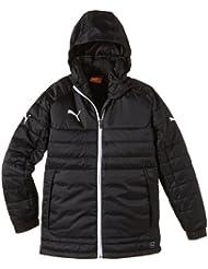 PUMA Jacke Stadium Jacket - Chaqueta, color negro / blanco, talla 14 años (162 cm)