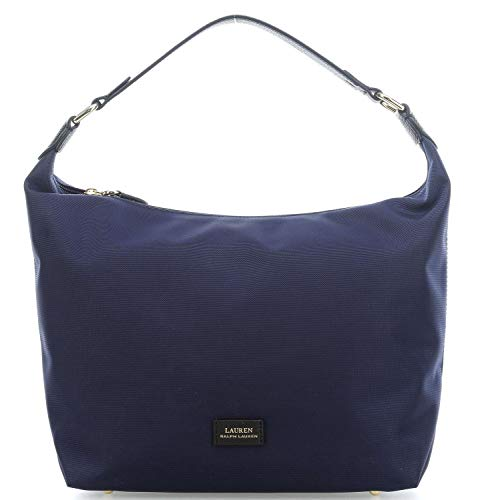 Lauren Bolso hobo de nailon Navy