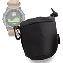 DURAGADGET Bolsa Negra Para Smartwatch Razer Nabu Watch - Ligero Para Transportar