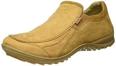 Woodland Men's OGC 3007118_Camel_10 Leather Loafers-10 UK (44 EU) (11 US) 3007118CAMEL
