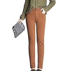 Mujer Leggings Con Forro...