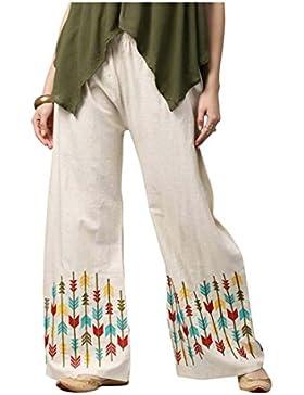 Indian Handicrfats Export Aks Regular Fit Women's White Trousers