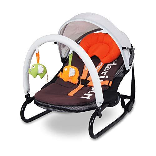 Silla mecedora para bebés cuna silla reclinable para bebés silla mecedora otoño mosquitero cama