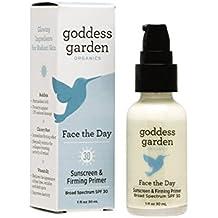 Goddess Garden Face The Day Sunscreen and Firming Primer, 1.0 Ounce by Goddess Garden