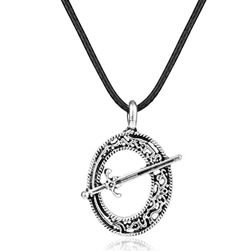 Dark Souls Blade Of The Dark Moon Metal Pendant Dark Souls 3 Sword Pendant Necklace Leather Rope Game Gift For Men Jewelry 2017