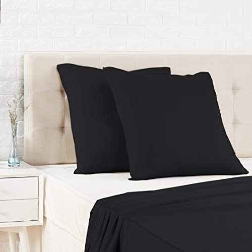 AmazonBasics - Funda almohada satén - 65 x 65 cm