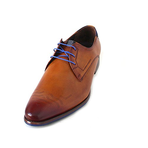 895b21643e Floris van Bommel Men s Derby Brown Size  10 UK - Buy Online in Oman ...