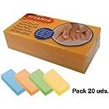 Pack de 20 Esponja pómez