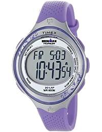 Timex Ironman - Reloj digital de cuarzo para mujer con correa de resina, color morado