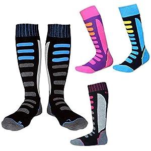 Zantec Kinder/Erwachsene Thermal Ski Socken Dicke Baumwolle Sport Radfahren Skifahren Fußball Socken Beinlinge Socke