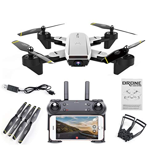 Ninbo SG700 FPV RC Qudacopter with 0.3MP 2MP Wide Angle Optical Follow Mode Camera Foldable Selfie Drone Altitude Hold Headless Helicopter