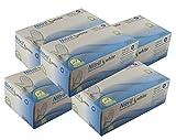 Einmalhandschuhe Puderfrei Nitril Einweghandschuhe Medi-Inn Big Box Fabauswahl(weiß,M (7-8),1000 Stück)