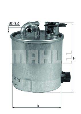 KNECHT KL 440/23 Filtres