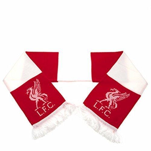 Nuevo Fútbol Oficial Equipo Tejido Bar Bufanda (Varios Equipos a Elegir de Calidad 10 Calibre Acrílico Tela Bufanda – Liverpool FC