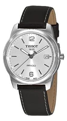 Tissot T0494101603701 - Reloj de pulsera hombre, plata, color negro