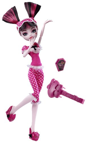 Mattel Monster High V7976 - Puppe Draculaura, Tochter des Dracula - englische Version (Draculaura Monster High Von)