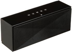 AmazonBasics Tragbarer Bluetooth-Lautsprecher - Schwarz