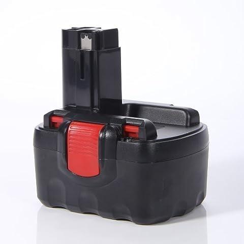 Masione®Batería de herramienta eléctrica para Bosch 12V 2000mAh